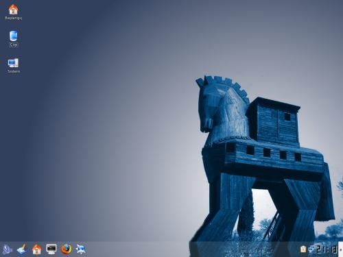 truva-linux-ekran-goruntusu