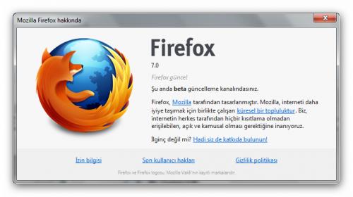 firefox7-hakkinda
