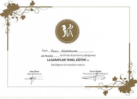 la-saraplari-temel-egitim-sertifikasi