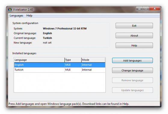 Windows 7 Icin Dil Paketleri Ve Manuel Kurulumu Detayli Anlatim Shiftdelete Net Forum Turkiye Nin En Iyi Teknoloji Forumu
